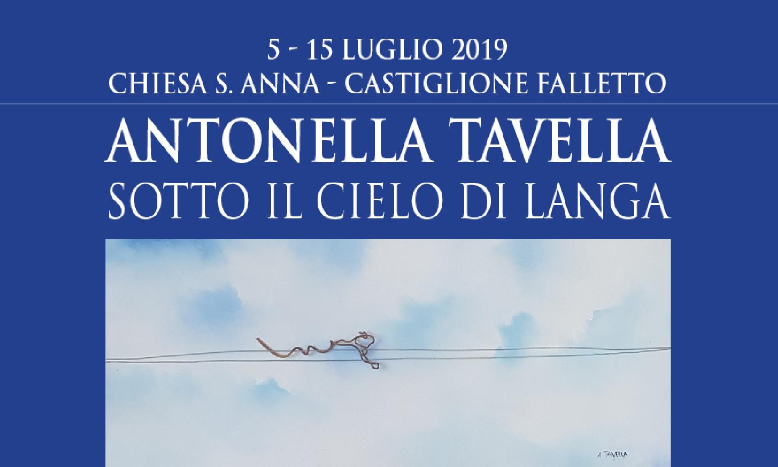 MOSTRA PERSONALE DI ANTONELLA TAVELLA