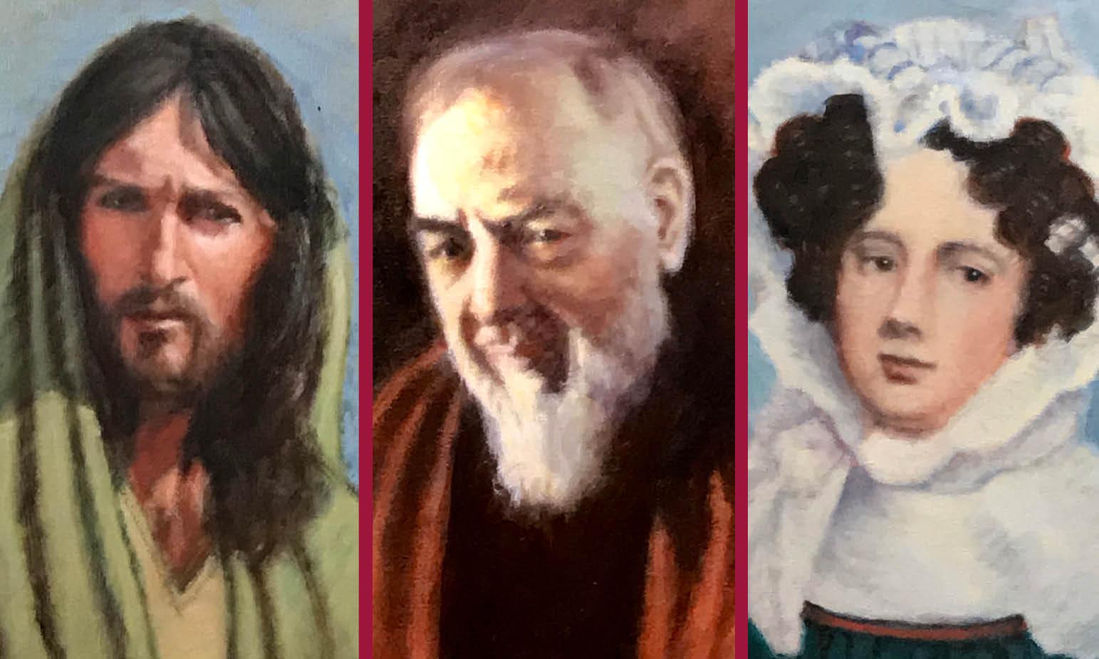 I VOLTI DELL'ANIMA: il Cristo di Zeffirelli, San Pio e l'autoritratto di Giulia di Barolo