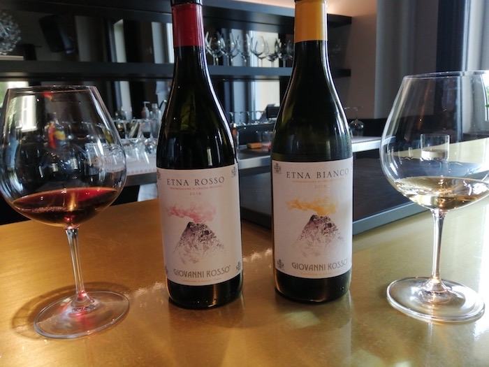 I vini dell'Etna degustati