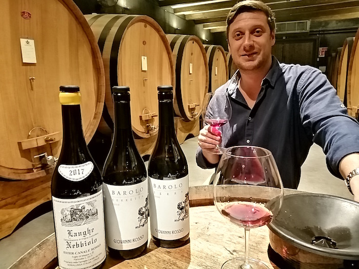 I vini di Langa degustati assieme all'enologo Andrea Delpiano