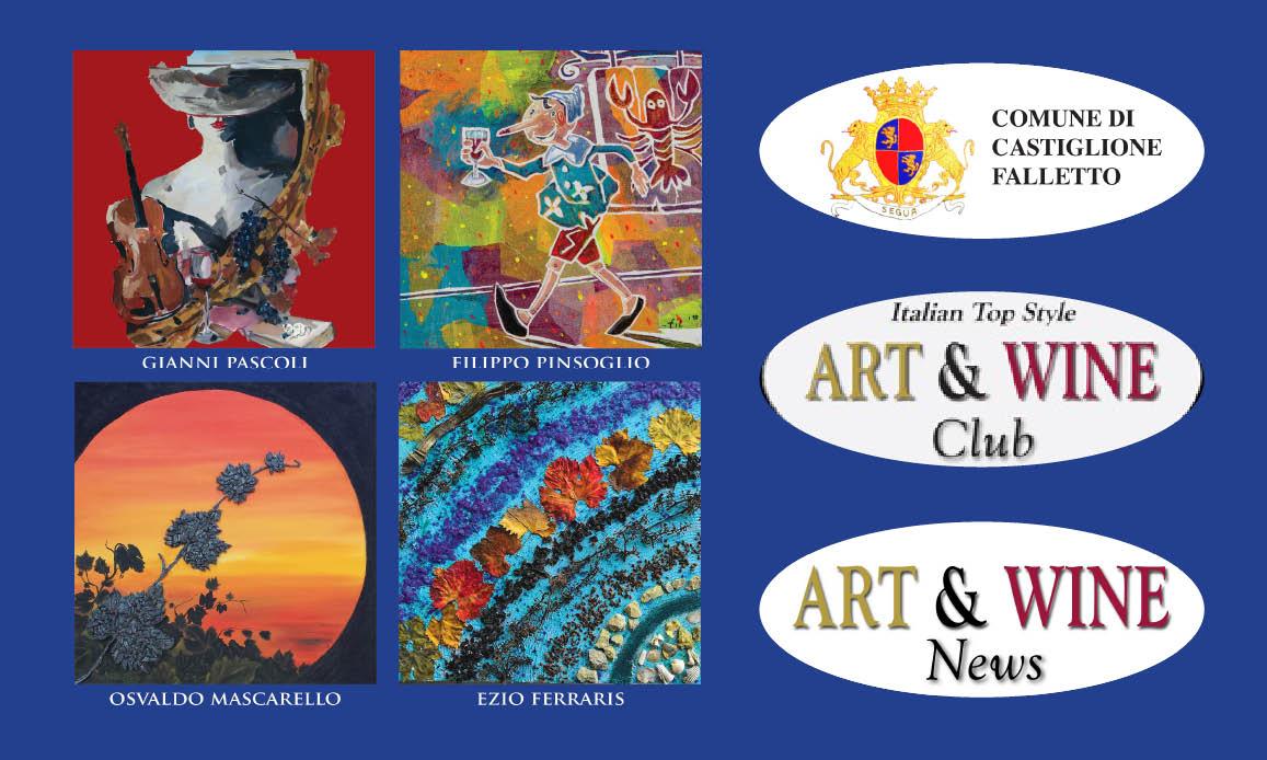 ART & WINE SHOW IN LANGA PER 4 ARTISTI E KANDISKIJ…