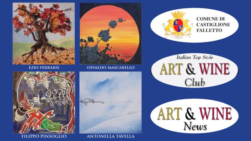 ART & WINE SHOW – Mostra e Barriques Dipinte a Castiglione Falletto